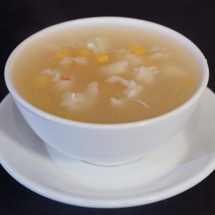 5. Suppe m/blekksprut & kongereker
