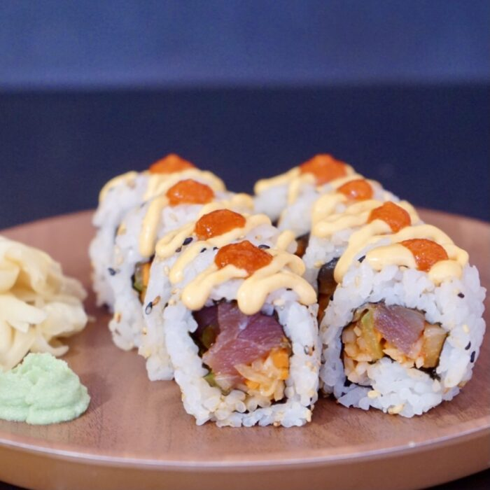 09. Spicy tunfisk maki (8 biter)