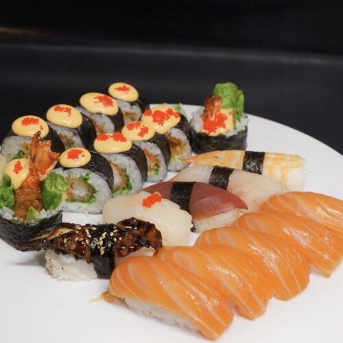 Sushi maki nigiri