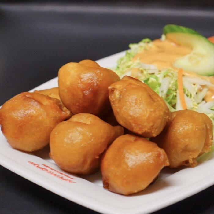 27. Innbakt svinefilet m/Si-chuan saus (sterk)