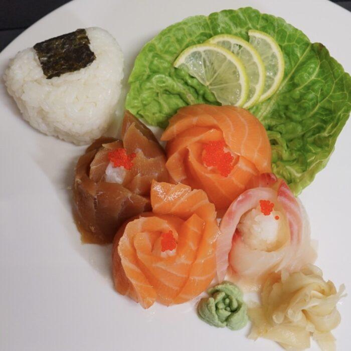 Liten Sashimi 12 biter